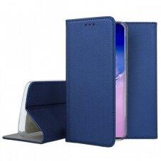 Dėklas Smart Magnet Samsung S10 Lite/A91 Tamsiai Mėlynas