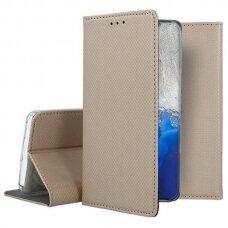 Dėklas Smart Magnet Samsung S20 Fe/S20 Lite Auksinis