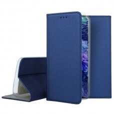 Dėklas Smart Magnet Samsung S20 Fe/S20 Lite Mėlynas