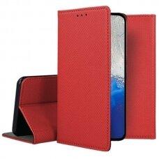 Dėklas Smart Magnet Samsung S20 Fe/S20 Lite Raudonas