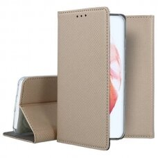 Dėklas Smart Magnet Samsung S21 Plus/S30 Plus auksinis