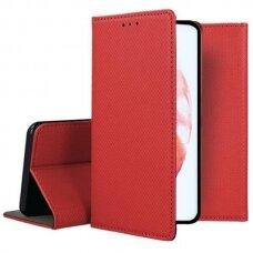 Dėklas Smart Magnet Samsung S21 Plus/S30 Plus raudonas