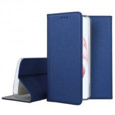 Dėklas Smart Magnet Samsung S21 Plus/S30 Plus tamsiai mėlynas