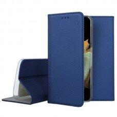 Dėklas Smart Magnet Samsung S21 Ultra/S30 Ultra tamsiai mėlynas