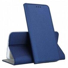 Dėklas Smart Magnet Xiaomi Mi Note 10/Mi Note 10 Pro/Mi CC9 Pro tamsiai mėlynas UCS103