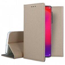 Dėklas Smart Magnet Xiaomi Redmi K20/K20 Pro/Mi 9T/Mi 9T Pro auksinis UCS127