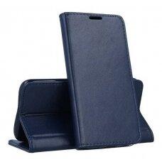 Dėklas Smart Magnetic Samsung A217 A21S Tamsiai Mėlynas