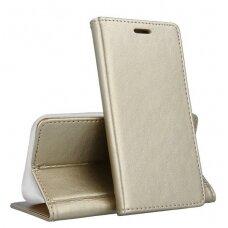 Dėklas Smart Magnetic Samsung A505 A50/A507 A50s/A307 A30s auksinis UCS031