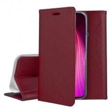 Dėklas Smart Magnetic Samsung S20 Fe/S20 Lite Bordo