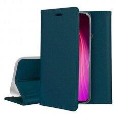 Dėklas Smart Magnetic Samsung S20 Fe/S20 Lite Tamsiai Žalias