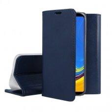 Dėklas Smart Magnetic Xiaomi Redmi 9 tamsiai mėlynas