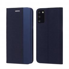 Dėklas Smart Senso Samsung A025G A02s tamsiai mėlynas