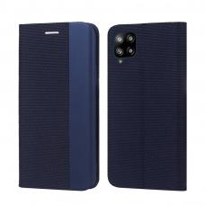 Dėklas Smart Senso Samsung A125 A12 tamsiai mėlynas