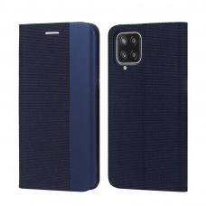 Dėklas Smart Senso Samsung A426 A42 tamsiai mėlynas