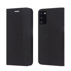 Dėklas Smart Senso Samsung A726 A72 5G juodas
