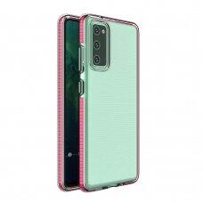 Dėklas Spring Case TPU Samsung Galaxy S20 FE 5G Rožinis