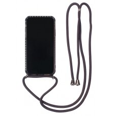 Dėklas Strap Case Samsung Note 20 juodas