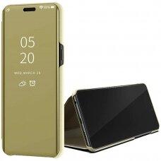 Dėklas Sview Huawei P40 Lite auksinis UCS068
