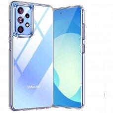 Dėklas Ultra Slim 0,5mm Samsung A525 A52/A526 A52 5G/A528 A52s 5G skaidrus