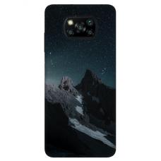 "Dėklas Unikaliu Dizainu ""U-Case Airskin Mountains 1 Design"" 1.0 mm TPU Xiaomi Poco X3 NFC Telefonui"