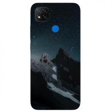 """Dėklas Unikaliu Dizainu """"U-Case Airskin Mountains 1 Design"""" 1.0 mm TPU Xiaomi Redmi 9C Telefonui"""
