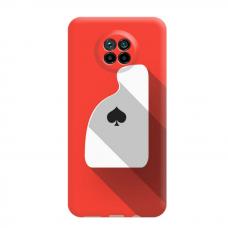 """Dėklas Unikaliu Dizainu """"U-Case Airskin Ace Design"""" 1.0 mm TPU Xiaomi Redmi Note 9T Telefonui"""