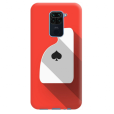 """Dėklas Unikaliu Dizainu """"U-Case Airskin Ace Design"""" 1.0 mm TPU Xiaomi Redmi Note 9 Telefonui"""