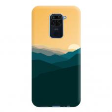 """Dėklas Unikaliu Dizainu """"U-Case Airskin Mountains 2 Design"""" 1.0 mm TPU Xiaomi Redmi Note 9 Telefonui"""