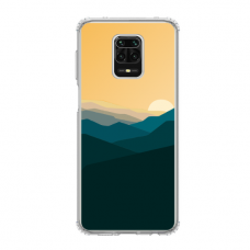 "Dėklas Unikaliu Dizainu ""U-Case Airskin Mountains 2 Design"" 1.0 mm TPU Xiaomi Redmi Note 9S Telefonui"