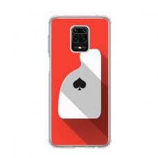 """Dėklas Unikaliu Dizainu """"U-Case Airskin Ace Design"""" 1.0 mm TPU Xiaomi Redmi Note 9 Pro Telefonui"""