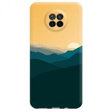 """Dėklas Unikaliu Dizainu """"U-Case Airskin Mountains 2 Design"""" 1.0 mm TPU Xiaomi Redmi Note 9T Telefonui"""