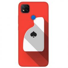 """Dėklas Unikaliu Dizainu """"U-Case Airskin Ace Design"""" 1.0 mm TPU Xiaomi Redmi 9C Telefonui"""