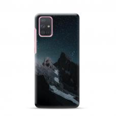 "Dėklas Unikaliu Dizainu ""U-Case Airskin Mountains 1 Design"" 1.0 mm TPU Samsung Galaxy A52 Telefonui"