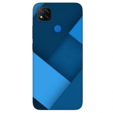 """Dėklas Unikaliu Dizainu """"U-Case Airskin Blue Design"""" 1.0 mm TPU Xiaomi Redmi 9C Telefonui"""