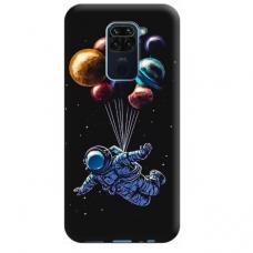 """Dėklas Unikaliu Dizainu """"U-Case Airskin Cosmo Design"""" 1.0 mm TPU Xiaomi Redmi Note 9 Telefonui"""