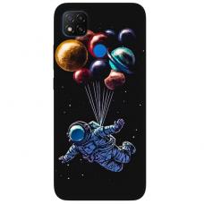 """Dėklas Unikaliu Dizainu """"U-Case Airskin Cosmo Design"""" 1.0 mm TPU Xiaomi Redmi 9C Telefonui"""