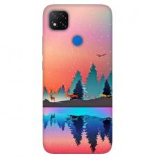 """Dėklas Unikaliu Dizainu """"U-Case Airskin Nature 5 Design"""" 1.0 mm TPU Xiaomi Redmi 9C Telefonui"""