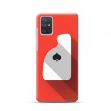 """Dėklas Unikaliu Dizainu """"U-Case Airskin Ace Design"""" 1.0 mm TPU Samsung Galaxy A72 Telefonui"""