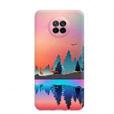 """Dėklas Unikaliu Dizainu """"U-Case Airskin Nature 5 Design"""" 1.0 mm TPU Xiaomi Redmi Note 9T Telefonui"""