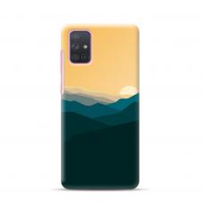 "Dėklas Unikaliu Dizainu ""U-Case Airskin Mountains 2 Design"" 1.0 mm TPU Samsung Galaxy A52 Telefonui"
