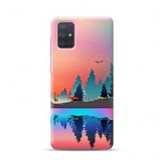 """Dėklas Unikaliu Dizainu """"U-Case Airskin Nature 5 Design"""" 1.0 mm TPU Samsung Galaxy A72 Telefonui"""