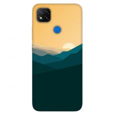 """Dėklas Unikaliu Dizainu """"U-Case Airskin Mountains 2 Design"""" 1.0 mm TPU Xiaomi Redmi 9C Telefonui"""