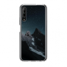 "Dėklas Unikaliu Dizainu ""U-Case Airskin Mountains 1 Design"" 1.0 mm TPU Huawei P Smart Pro Telefonui"