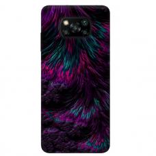 """Dėklas Unikaliu Dizainu """"U-Case Airskin Feather Design"""" 1.0 mm TPU Xiaomi Poco X3 NFC Telefonui"""