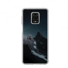 """Dėklas Unikaliu Dizainu """"U-Case Airskin Mountains 1 Design"""" 1.0 mm TPU Xiaomi Redmi Note 9 Pro Telefonui"""