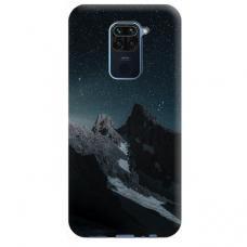 """Dėklas Unikaliu Dizainu """"U-Case Airskin Mountains 1 Design"""" 1.0 mm TPU Xiaomi Redmi Note 9 Telefonui"""