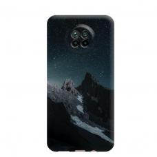 """Dėklas Unikaliu Dizainu """"U-Case Airskin Mountains 1 Design"""" 1.0 mm TPU Xiaomi Redmi Note 9T Telefonui"""
