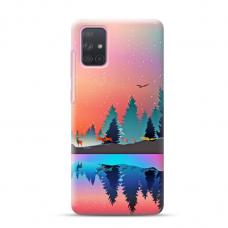 """Dėklas Unikaliu Dizainu """"U-Case Airskin Nature 5 Design"""" 1.0 mm TPU Samsung Galaxy A52 Telefonui"""
