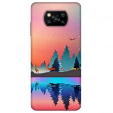 """Dėklas Unikaliu Dizainu """"U-Case Airskin Nature 5 Design"""" 1.0 mm TPU Xiaomi Poco X3 NFC Telefonui"""