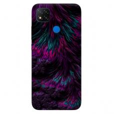 """Dėklas Unikaliu Dizainu """"U-Case Airskin Feather Design"""" 1.0 mm TPU Xiaomi Redmi 9C Telefonui"""